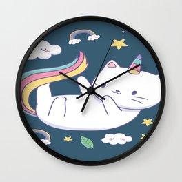 Cutest Cat Ever Wall Clock