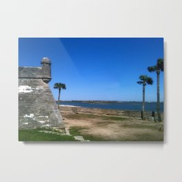 St. Augustine 2012 The MUSEUM Zazzle Gifts - Society6 Metal Print