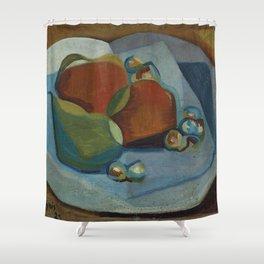 "Juan Gris ""Nature morte aux fruits (Still life with fruits)"" Shower Curtain"