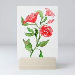 Watercolor Roses Mini Art Print