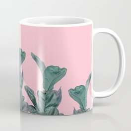 Rubber trees with pink Coffee Mug