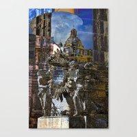 roman Canvas Prints featuring Roman Impression  by CAPTAINSILVA