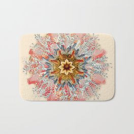 Ernst Haeckel Spiraling Bath Mat