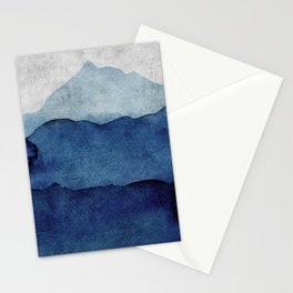 Water color landscape  Stationery Cards