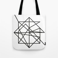 the wire Tote Bags featuring Wire by FLATOWL