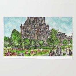 Les Tuileries Garden Rug