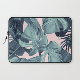 Tropical Summer Jungle Leaves Dream #3 #tropical #decor #art #society6 Laptop Sleeve