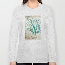 Blue Coral No. 2 Long Sleeve T-shirt