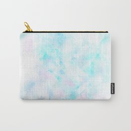Light Blue Clouds Carry-All Pouch