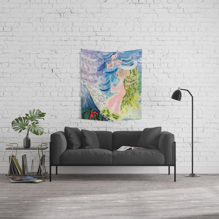 Cambio de rumbo Wall Tapestry