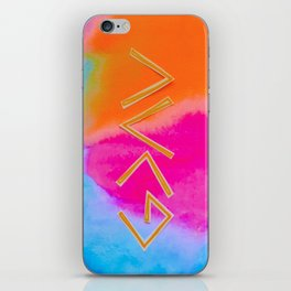 God Is Greater - Tie Dye iPhone Skin