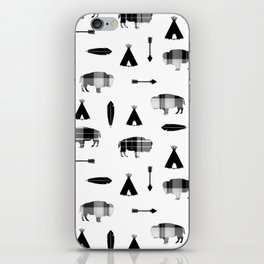 Buffalo Tribe iPhone Skin