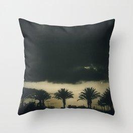 Dark Skies Above Throw Pillow