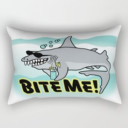 Bite Me! Rectangular Pillow