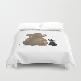 You are my best friend Duvet Cover