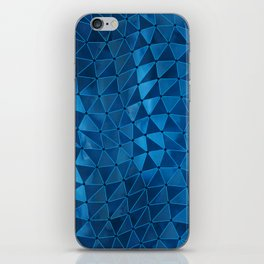 Deformation of Time and Space iPhone Skin