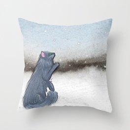 Cold stuff Throw Pillow