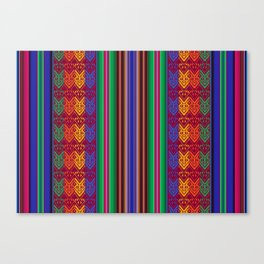 Peruvian Folkart Leinwanddruck