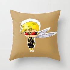 Chibi Wasp Throw Pillow