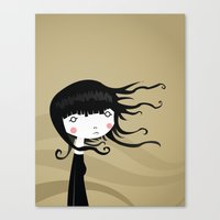 wind Canvas Prints featuring Wind by Volkan Dalyan