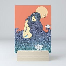 Mermaid of sea Mini Art Print