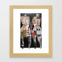 We The Girls Framed Art Print