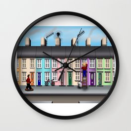 Spring Clean Wall Clock