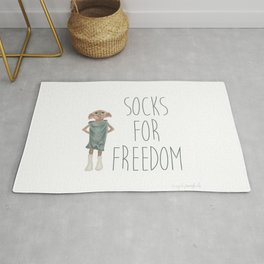 Socks for Freedom Rug