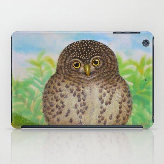 Collared Owlet iPad Case