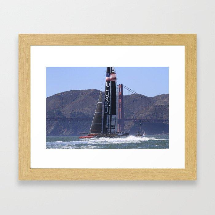 America's Cup  Framed Art Print