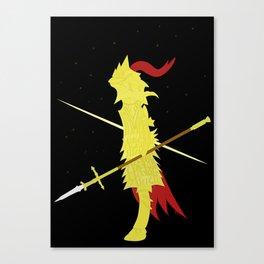 Dragon Slayer Ornstein ( Dark Souls I ) Canvas Print