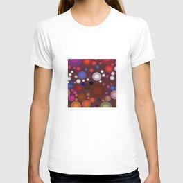 Retro Multi Color Bubbles T-shirt