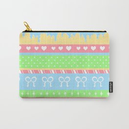 Creepy Cute Stripes Carry-All Pouch