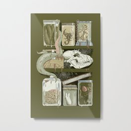 Shelf Life Metal Print