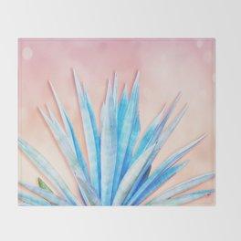 Agave Azul Throw Blanket
