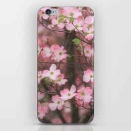 Pink Dogwoods iPhone Skin