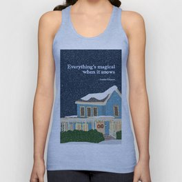 Gilmore girls house Unisex Tank Top