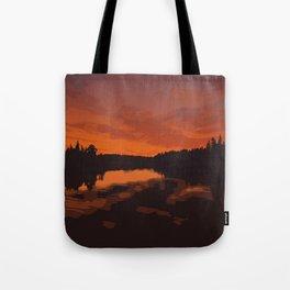 Nopiming Provincial Park Poster Tote Bag