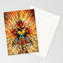 modern composition 10 by rafi talby Stationery Cards