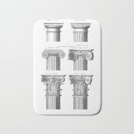 Greek columns Bath Mat
