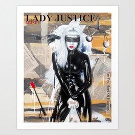 Lady Justice MMXIII Art Print
