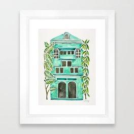 The Grotto – Mint Palette Framed Art Print