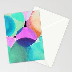Polka Dot Ice Blue Stationery Cards