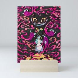 A Mad Grin Mini Art Print