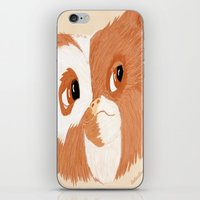 gizmo iPhone & iPod Skins featuring Gizmo by ItalianRicanArt