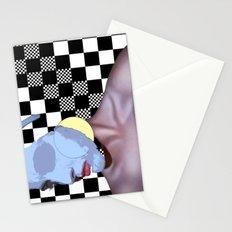 Masked Beauty  Stationery Cards