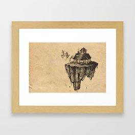 Floating Home Framed Art Print