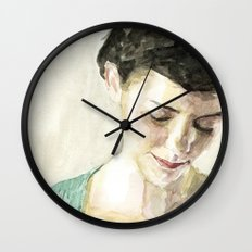 Amelie Poulain  Wall Clock