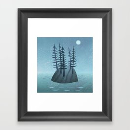 Pine Island Framed Art Print