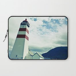 Lighthouse in norway Laptop Sleeve